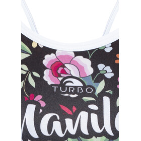 Turbo Manila Revolution - Maillot de bain Femme - noir/Multicolore